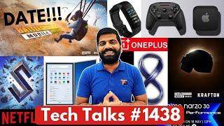 Tech Gesprekke # 1438 - Battlegrounds India Launch Date Leak, NARZO 30, Apple Console, Poco F3 GT, PS5