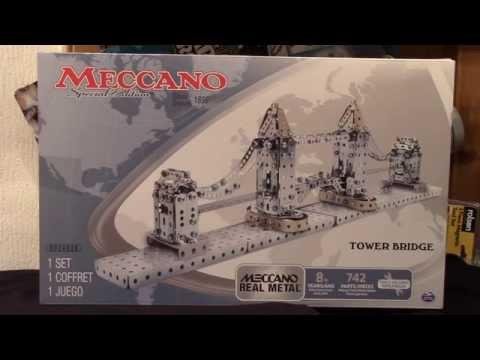 NEW MECCANO SPECIAL EDITION TOWER BRIDGE SET (2015)