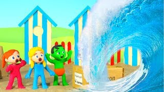 What A Wave  ❤ Cartoons For Kids