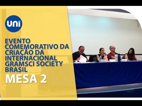 Evento Comemorativo da Criacao da Internacional Gramsci Society Mesa 2