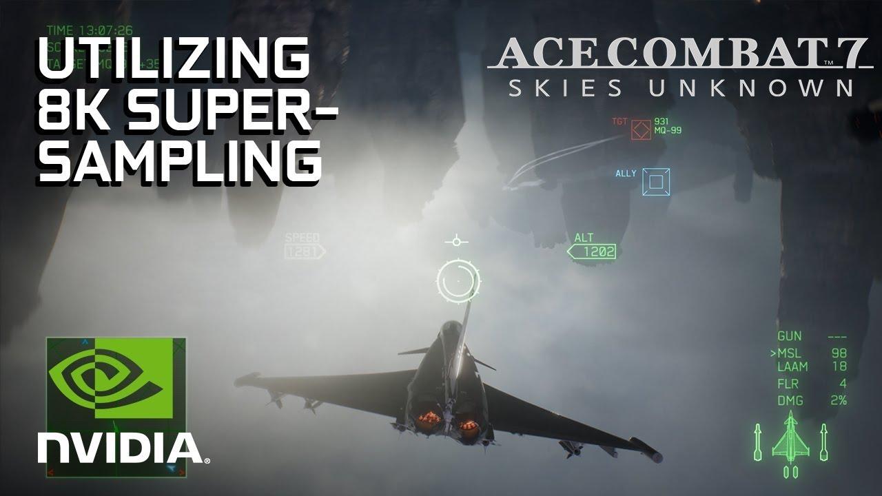 Ace Combat 7 4K PC Gameplay Shared by NVIDIA Alongside GPU