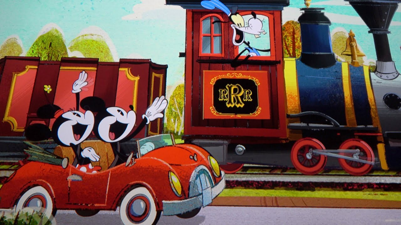 A Laughing Good Time On Mickey And Minnie's Runaway Railway!