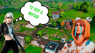 Lo mato haciendo un reto en fortnite y me AMENAZA |Fortnite