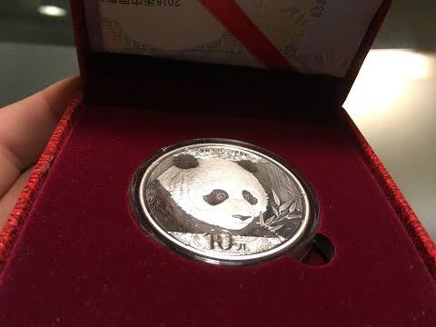 2018 Chinese Panda Coin