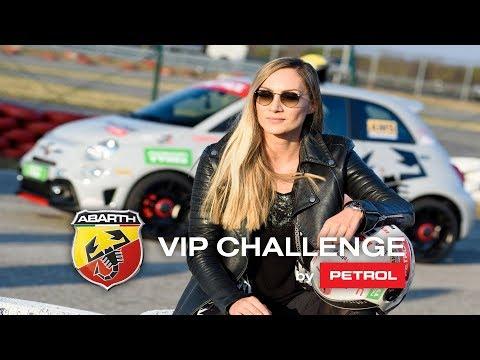 Jelena Gavrilović i borba sa manuelnim menjačem! / Abarth VIP Challenge by Petrol