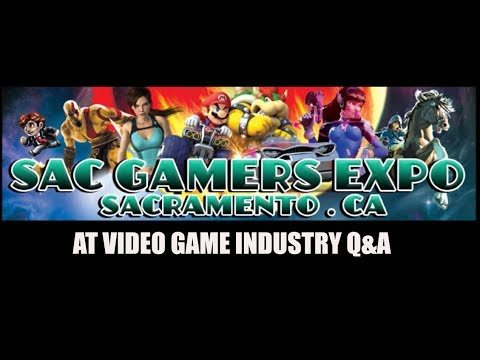 WLTV at SAC GAMERS EXPO 2017 at the Video Game Industry Q&A panel