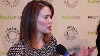 Sarah Paulson Talks Lana Winters on American Horror Story!