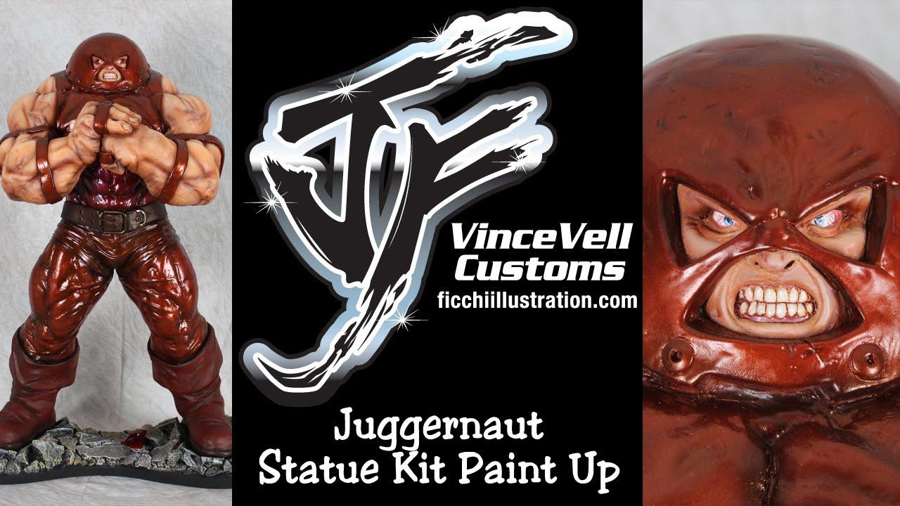 Juggernaut Statue Kit Paint Up YouTube