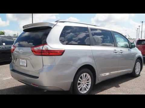 2017 toyota sienna xle premium 8 passenger youtube. Black Bedroom Furniture Sets. Home Design Ideas