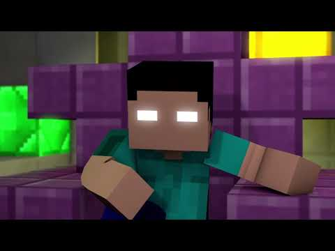 "New Minecraft Song ""Bye"" New Song From The Battle Of The Glitches Animation Series"