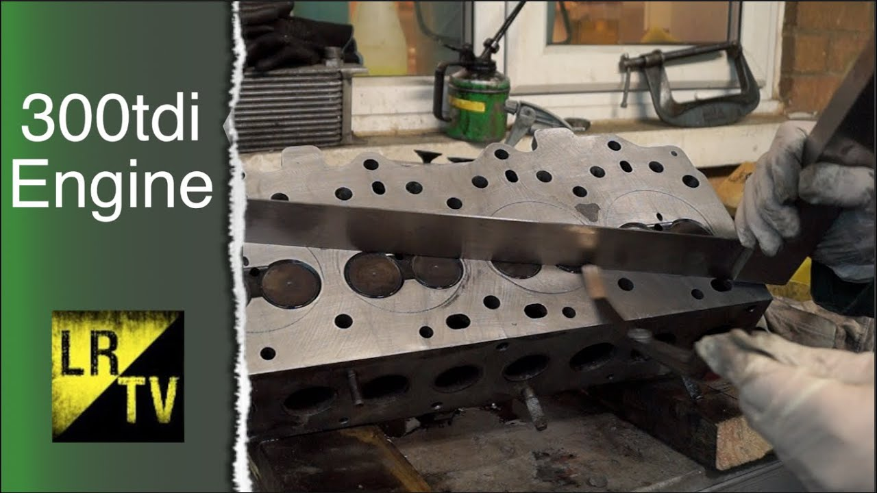 How to Check for a Warped or Cracked Cylinder Head - 300tdi Engine Overhaul  - 110 Project rebuild