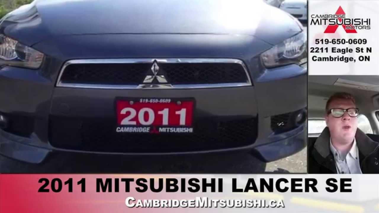 USED CAR Mitsubishi Lancer Cambridge Mitsubishi YouTube - Mitsubishi cambridge