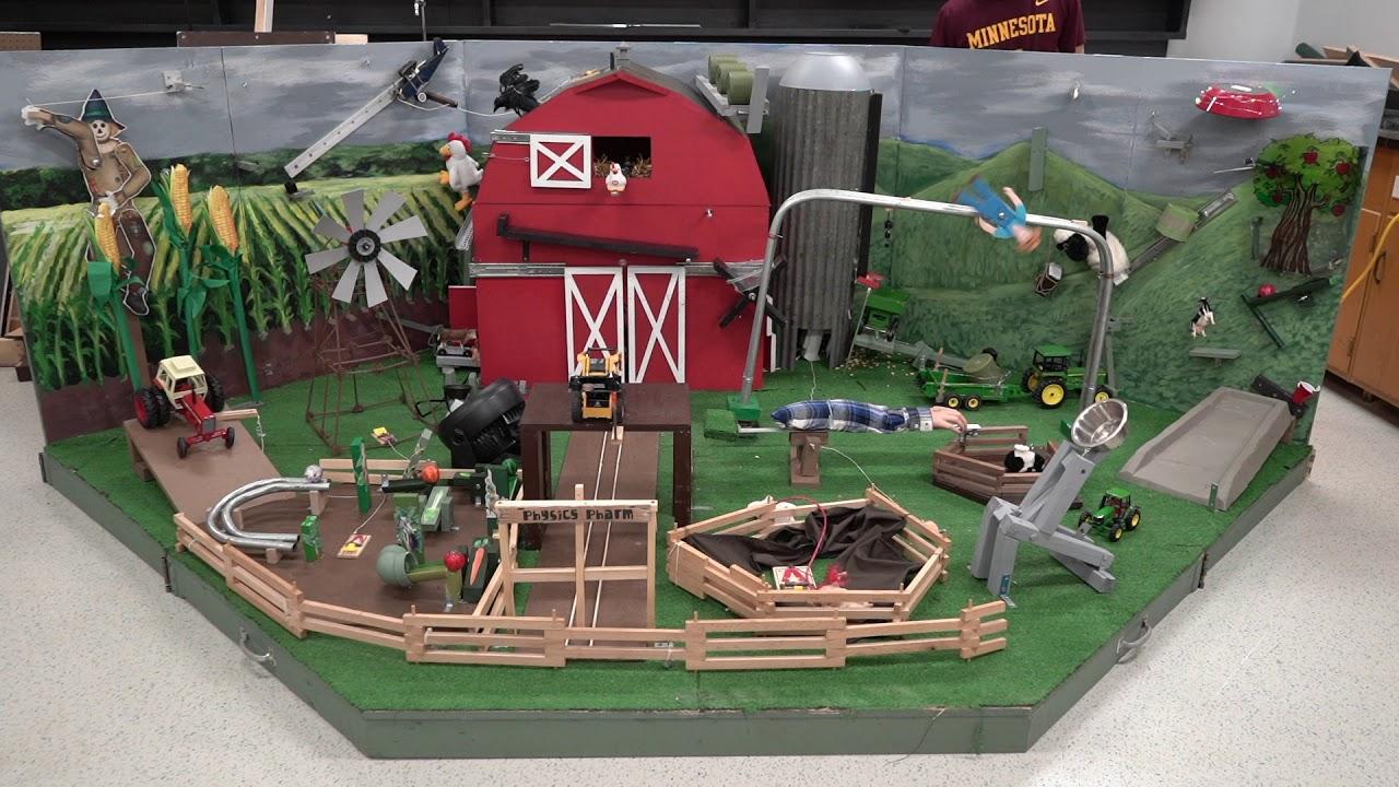 Video: Chatfield High School Rube Goldberg machine