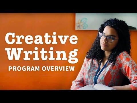 Creative Writing & Screenwriting: Program Overview