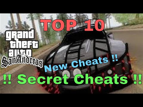 Top 10 Cheats - GTA San Andreas PC। Best Cheat Codes For Gta San Andreas By General Pony Part-2