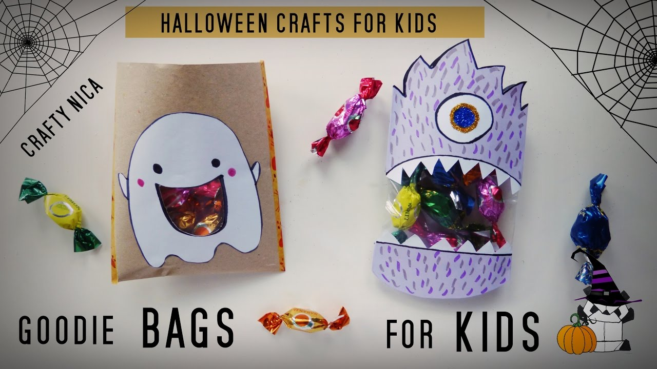 Halloween Treat Bags For Kids