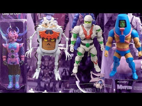 2017 New York Comic Con Super7 Booth Tour NYCC Masters Of The Universe Mega Man Action Figures