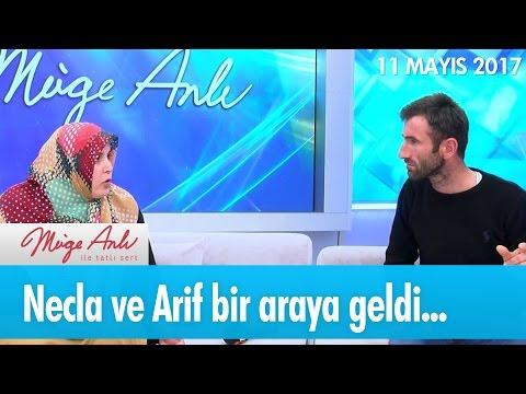 Necla ve Arif bir araya geldi... Müge Anlı ile Tatlı Sert 11 Mayıs 2017 - atv