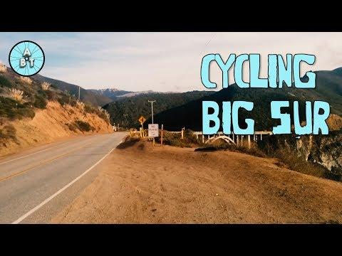 Cycling Big Sur, California