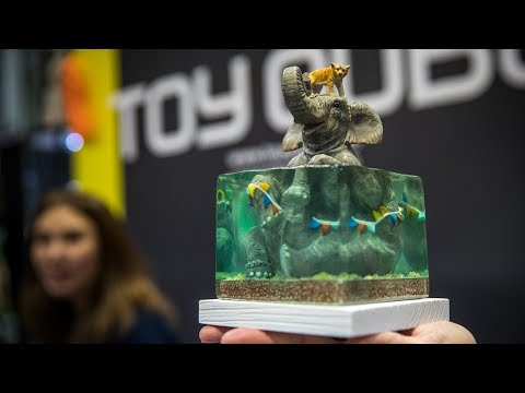 Toyqube: Turning 2D Art into Sculpted Collectibles