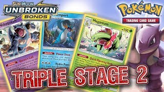 SUCCESSFUL TRIPLE STAGE 2 DECK - NIDOQUEEN + MEGANIUM + SWAMPERT (Pokemon TCG)
