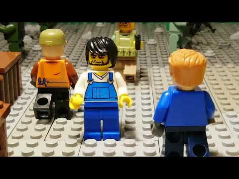 Лего самоделка #33 город выжевших