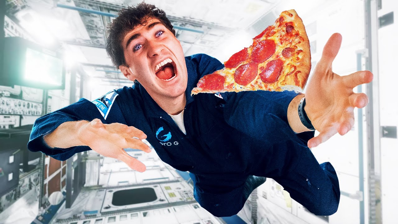 Download I Ate A Slice Of Pizza In Space!