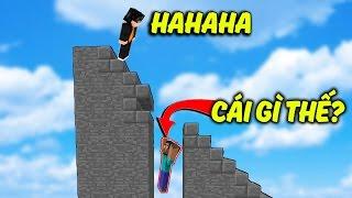 CÁI BẪY TÀNG HÌNH BÁ ĐẠO!!! (Minecraft Troll SKYWARS)
