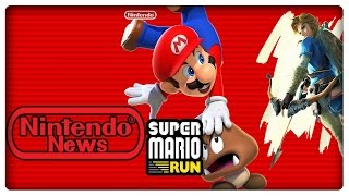 Super Mario Run Release am 15.12.2016 & 10€ für Vollversion! Zelda NICHT zum Nintendo Switch Launch?