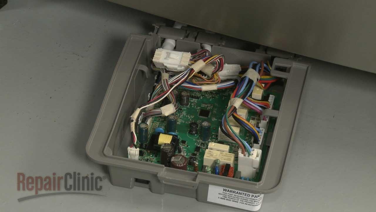 Amana Ice Maker Wiring Diagram Frigidaire Refrigerator Replace Main Control Board