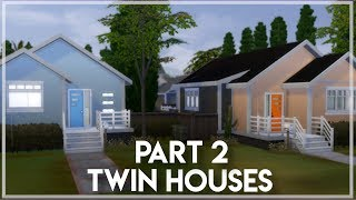 CUTE TWIN HOUSES🏡| PART 2 | The Sims 4: speed build