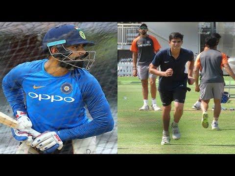Watch: Arjun Tendulkar bowls at Virat Kohli at Lords | India | England | England vs India 2nd Test