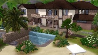 The Sims 3 - House Building - Seaside Villa
