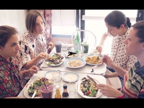 Garance Doré: Pardon My French/Lunch at Miss Lily's
