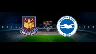 Прогноз на матч Чемпионата Англии Вест Хэм - Брайтон смотреть онлайн бесплатно 01.02.2020