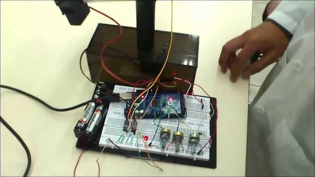 Brazo robotico con matlab y arduino youtube