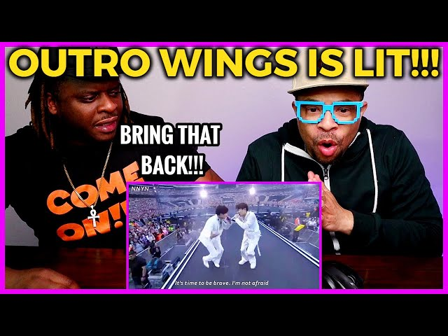 BTS 'Outro Wings' REACTION (Lyrics Review and Live Stage)
