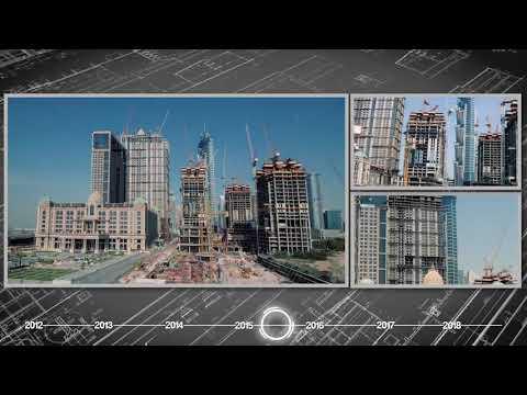 Al Habtoor City Construction Progress Time-lapse (April 2012 – January 2018)