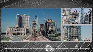 Al Habtoor City Construction Progress Time-lapse (April 2012 – January 2018)