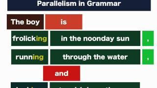 Parallelism in Grammar