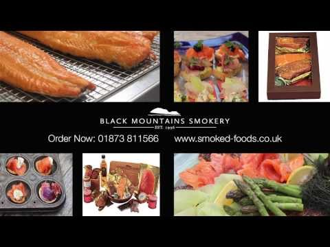 Customer praises local Welsh smokery for finest smoked salmon, hampers and sense of place in Powys