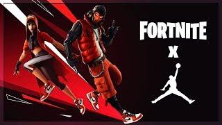 🔴 New Jordan x Fortnite Collab Event // New Skins // New Fortnite Update! (Fortnite Battle Royale)