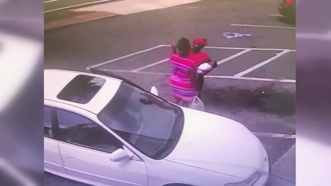 Woman charged in baby's death during fight:Raw Footage.