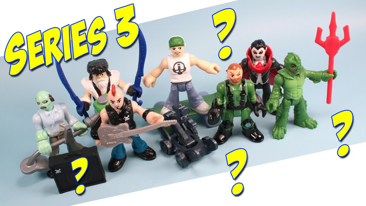 Imaginext Mystery Pack Figures Series 3 Opening And Codes