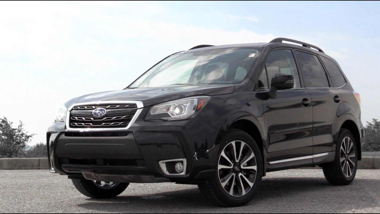 Subaru forester 2017 black