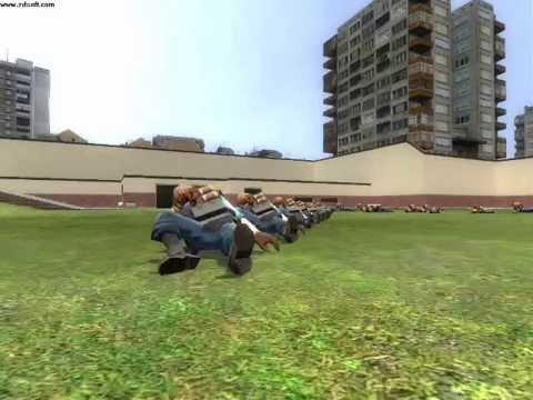 How to make a tf2 zombie (ragdoll) in gmod