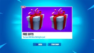 *NEW* How to Get FREE GIFTS in Fortnite! (Fortnite Gifting System & Free Skins)