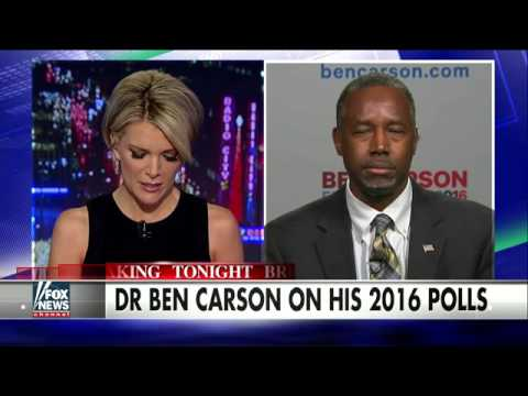 Dr. Ben Carson opens up about his dip in the 2016 polls