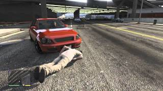 GTA 5: Reckless driving with Trevor