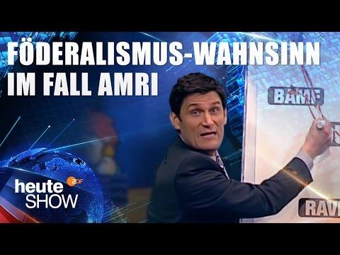 Christian Ehring erklärt den Föderalismus-Wahnsinn im Fall Amri | heute-show vom 27.01.2017